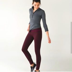 Lululemon Pace Queen Tights *Full On*